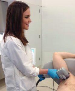 Dr. MacGregor performs miraDry procedure